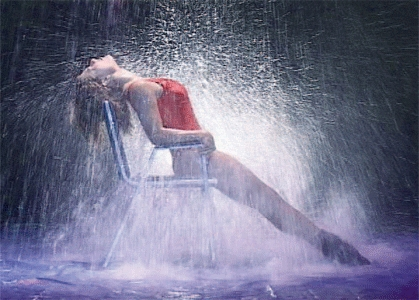 Jennifer Beals in Flashdance.