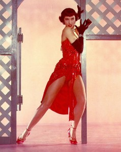 Cyd Charisse - red-hot in The Band Wagon.