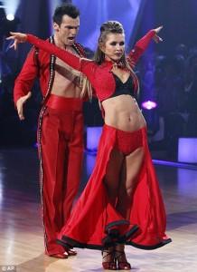 Audrina Patridge and Tony Dovolani's final dance.