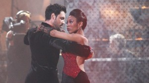 Brandy and Maks have been eliminated from DWTS.
