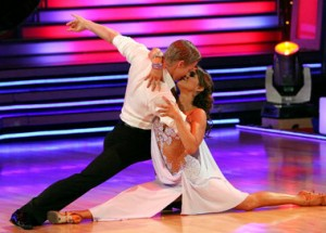 Jennifer Grey and Derek Hough show why they've earned the Mirror Ball Trophy.