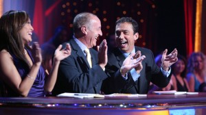 The judges were all smiles last night on DWTS.