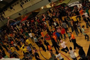 Last year over 800 dancers participated in the 24 Hour Cancer Dance-a-thon.