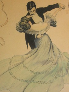 The waltz - beauty, elegance, and grace on the dance floor.