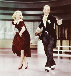 "Fred Astaire and Ginger Rogers in ""Swing Time"""