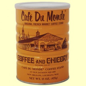 Café du Monde - home of the best coffee and beignets this side of Paris.