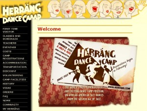 The Frankie Manning Legacy Fund is offering a scholarship to Herrang 2011.