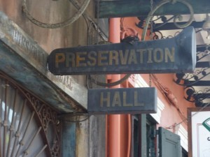 Preservation Hall - New Orleans