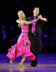 The Quickstep is an International Standard ballroom dance.