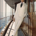 White (or Ivory) Linen Suits
