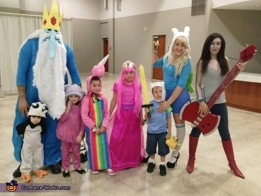 or pick a family friendly costume such as the addams family or adventure time gang