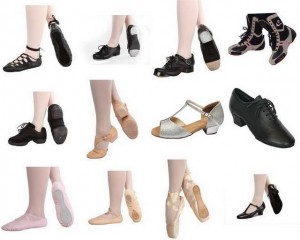 dance shoes and their care