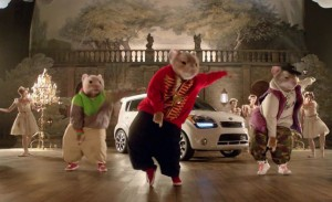 Kia party rocking hamsters