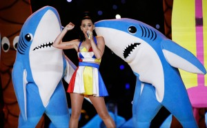 Katy Perry HalftimeShow L shark