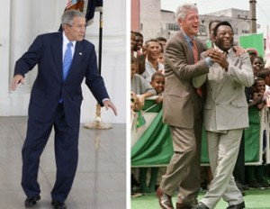 dancing Presidents