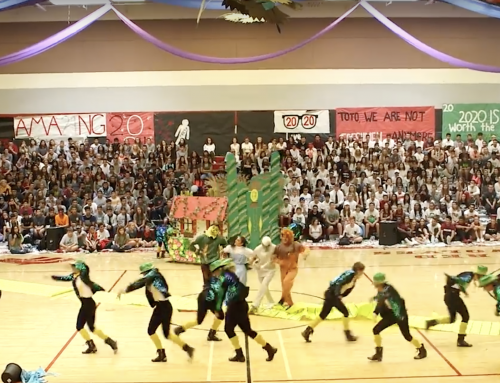 High School Dance Team Wows Crowds